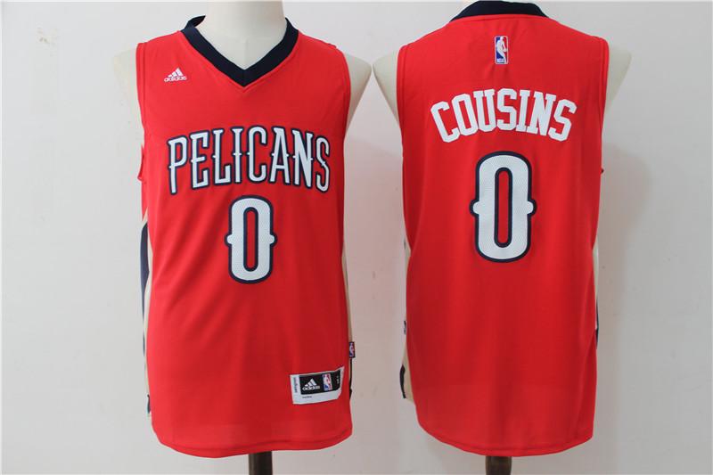 Pelicans 0 DeMarcus Cousins Red Swingman Jersey