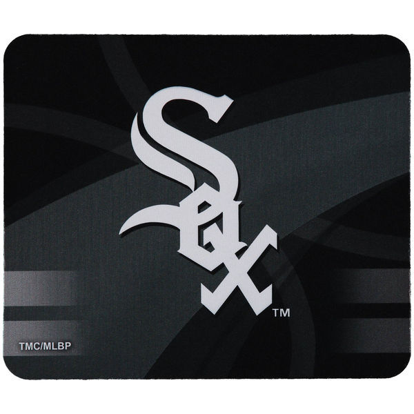 Chicago White Sox Black Gaming/Office MLB Mouse Pad
