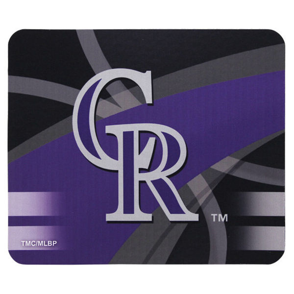 Colorado Rockies Gaming/Office MLB Mouse Pad2