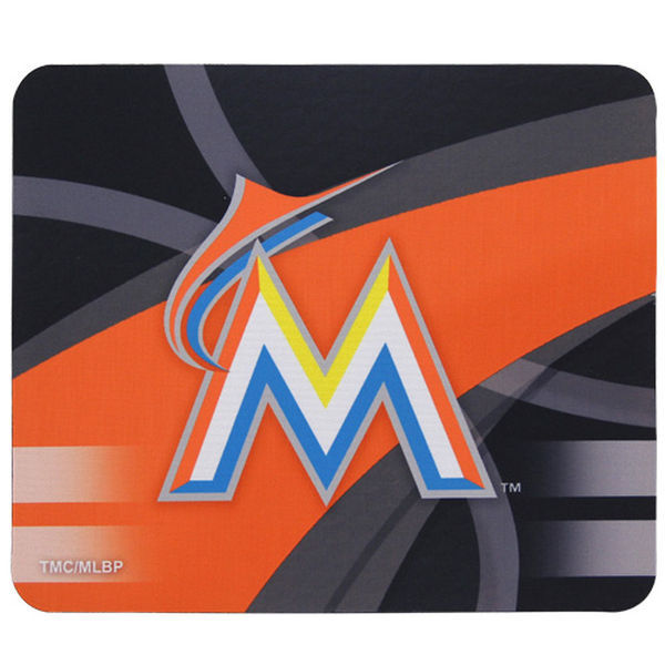 Miami Marlins Gaming/Office MLB Mouse Pad