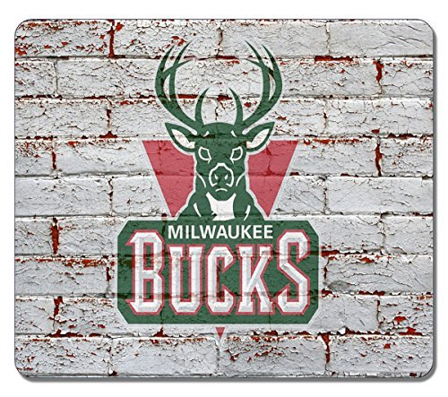 Milwaukee Bucks Gaming/Office NBA Mouse Pad