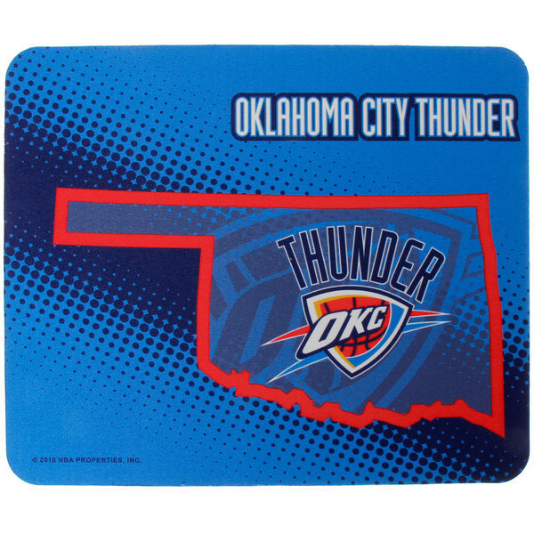Oklahoma City Thunder Blue Gaming/Office NBA Mouse Pad