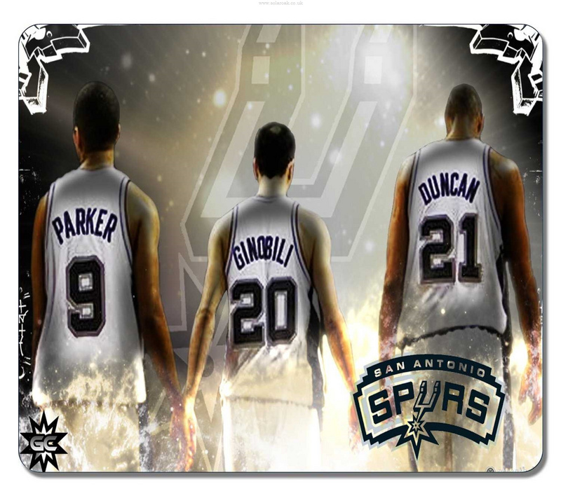 San Antonio Spurs Gaming/Office NBA Mouse Pad