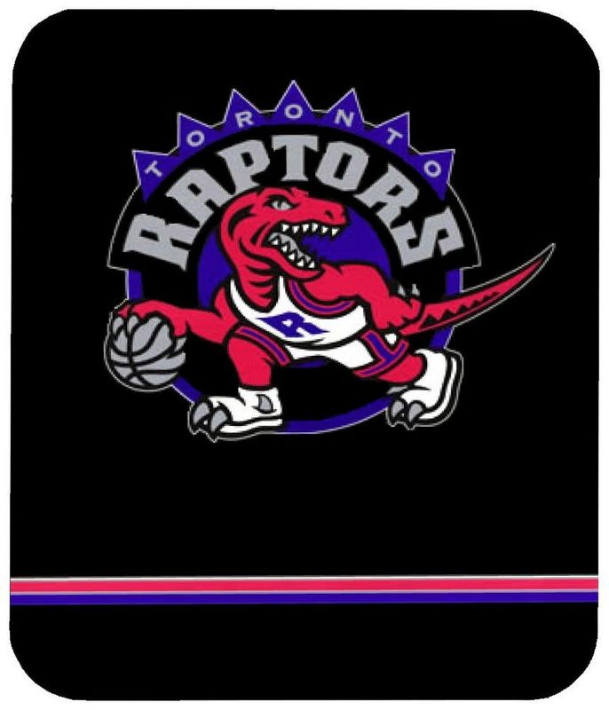 Toronto Raptors Black Gaming/Office NBA Mouse Pad