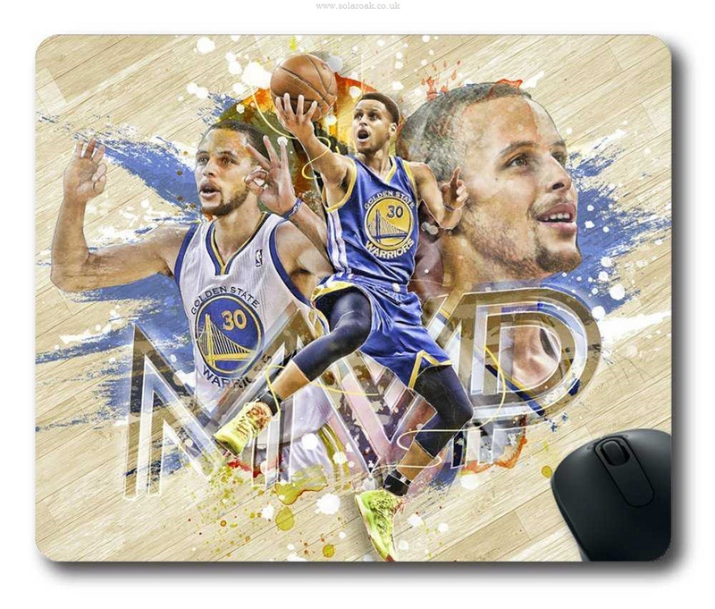 Warriors 30 Stephen Curry Gaming/Office NBA Mouse Pad