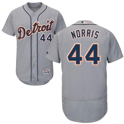Tigers 44 Daniel Norris Gray Flexbase Jersey