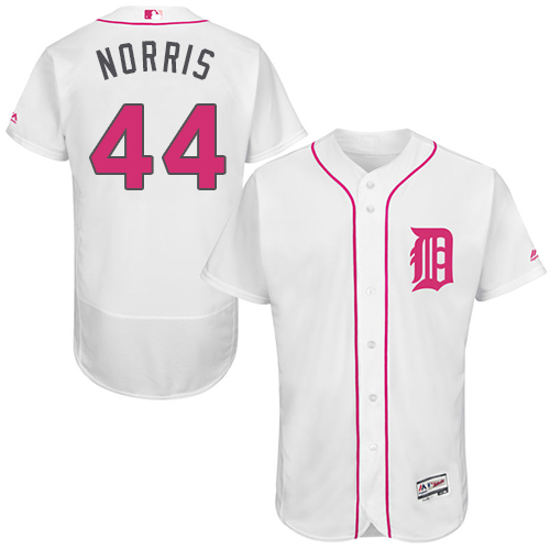 Tigers 44 Daniel Norris White Mother's Day Flexbase Jersey