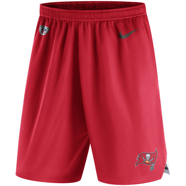 Men's Tampa Bay Buccaneers Nike Red Knit Performance Shorts