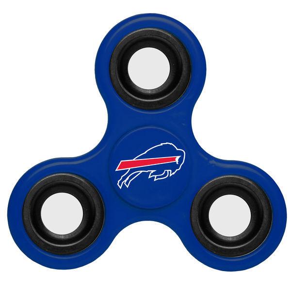 Bills Blue Team Logo Fidget Spinner