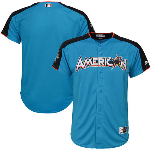 Youth American League Majestic Blue 2017 MLB All-Star Game Home Run Derby Team Jersey