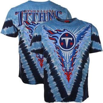 Tennessee Titans Tie-Dye Premium Men's T-Shirt