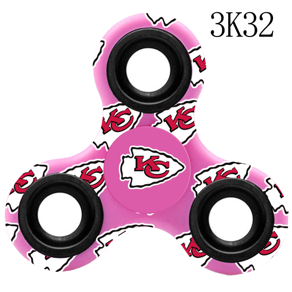 Kansas City Chiefs Multi-Logo 3 Way Fidget Spinner