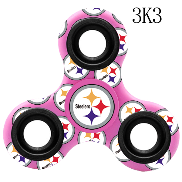 Pittsburgh Steelers Multi-Logo 3 Way Fidget Spinner