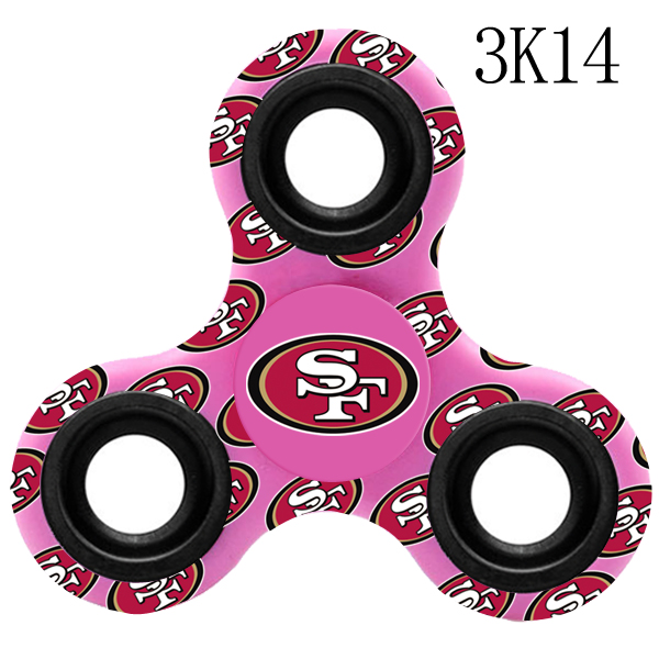 San Francisco 49ers Multi-Logo 3 Way Fidget Spinner