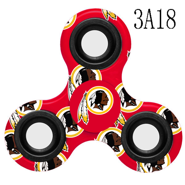 Washington Redskins Multi-Logo 3 Way Fidget Spinner