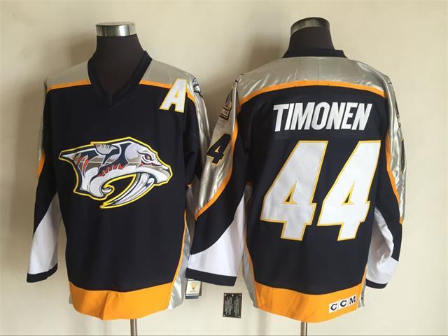 Predators 44 Kimmo Timonen Black CCM Jersey