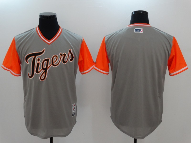 Tigers Majestic Gray 2017 Players Weekend Team Jersey