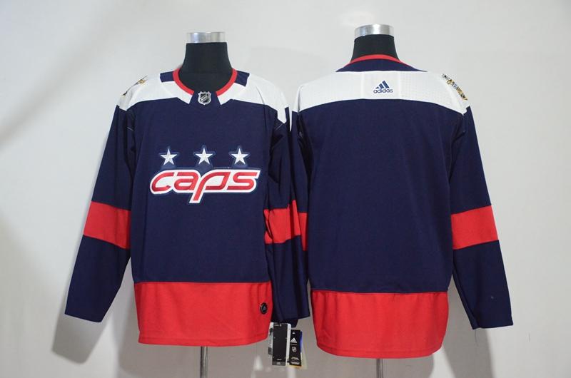 Capitals Blank Navy 2018 NHL Stadium Series Adidas Jersey
