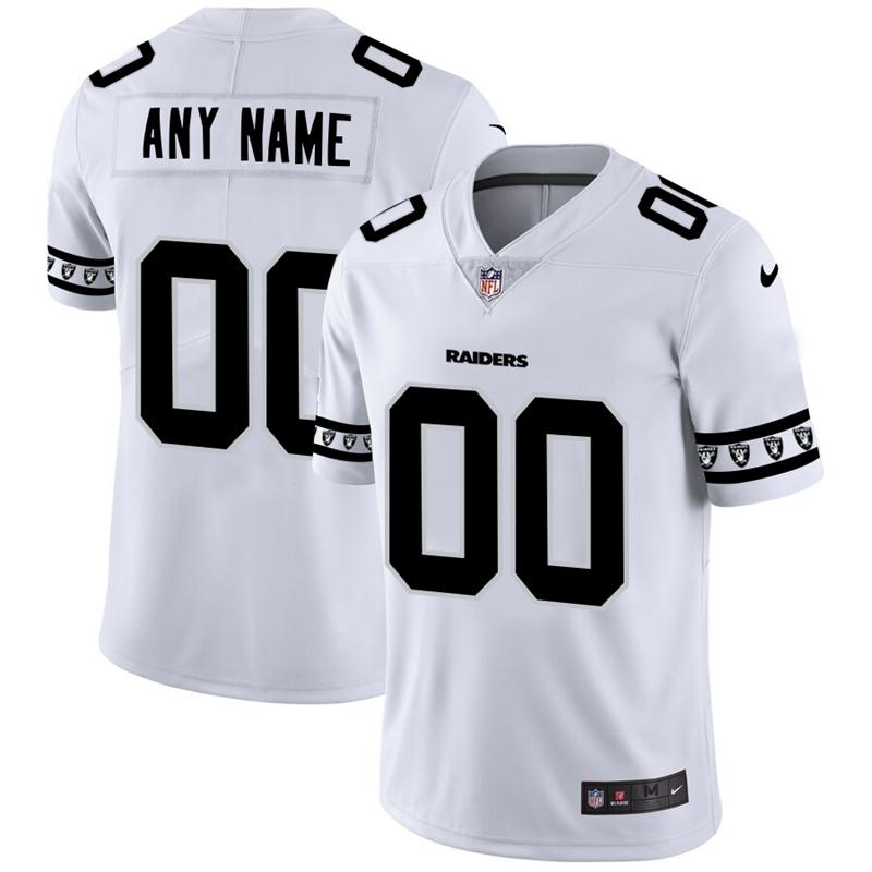 Nike Raiders White Men's Customized 2019 New Vapor Untouchable Limited Jersey