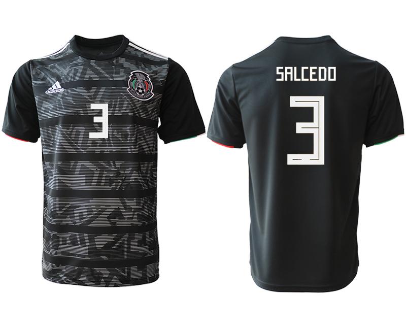 2019-20 Mexico 3 SALCEDO Away Thailand Soccer Jersey