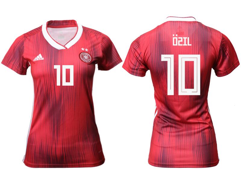 2019-20 Germany 10 OSIL Away Women Soccer Jersey