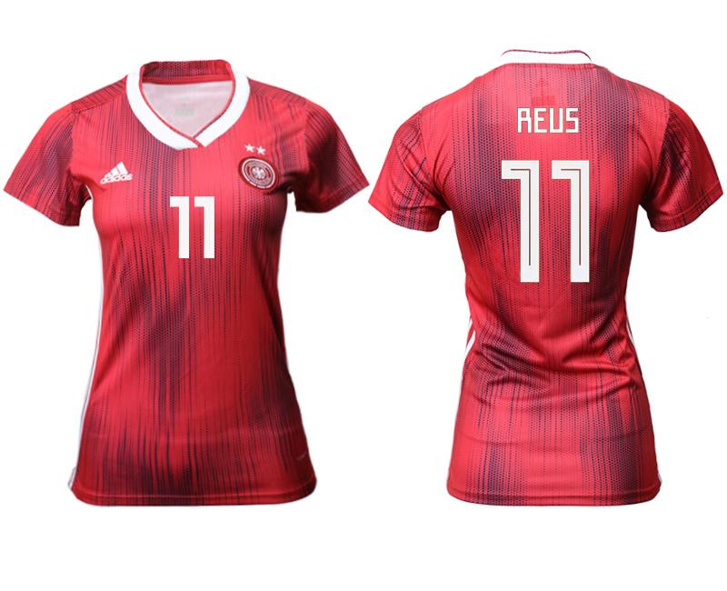 2019-20 Germany 11 REUS Away Women Soccer Jersey