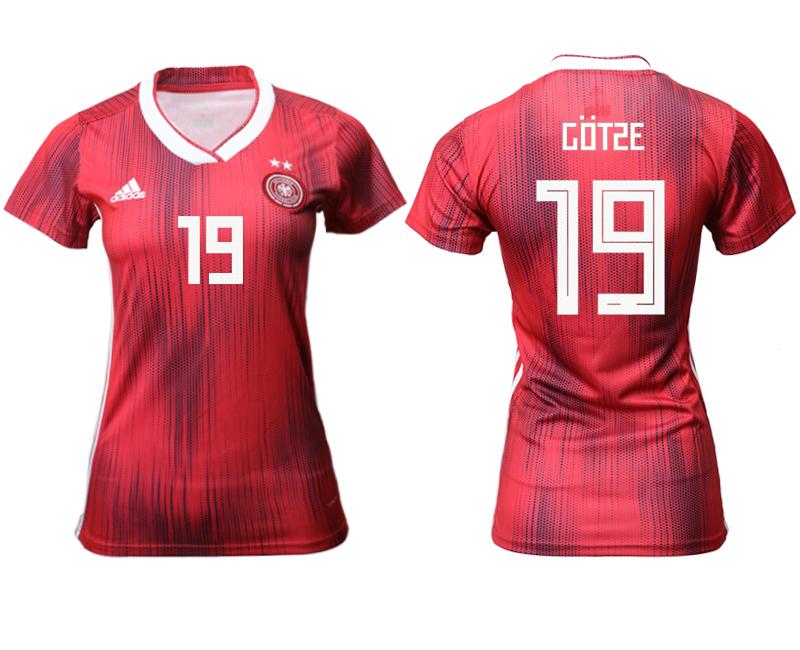 2019-20 Germany 19 COTSE Away Women Soccer Jersey