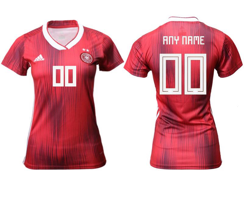 2019-20 Germany Customized Away Women Soccer Jersey