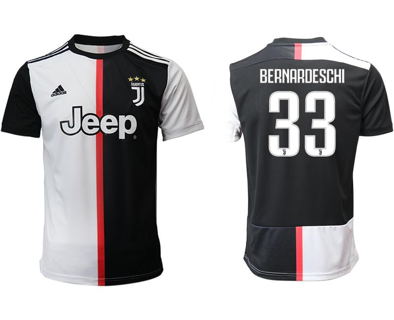 2019-20 Juventus 33 BERNARDESCHI Home Thailand Soccer Jersey