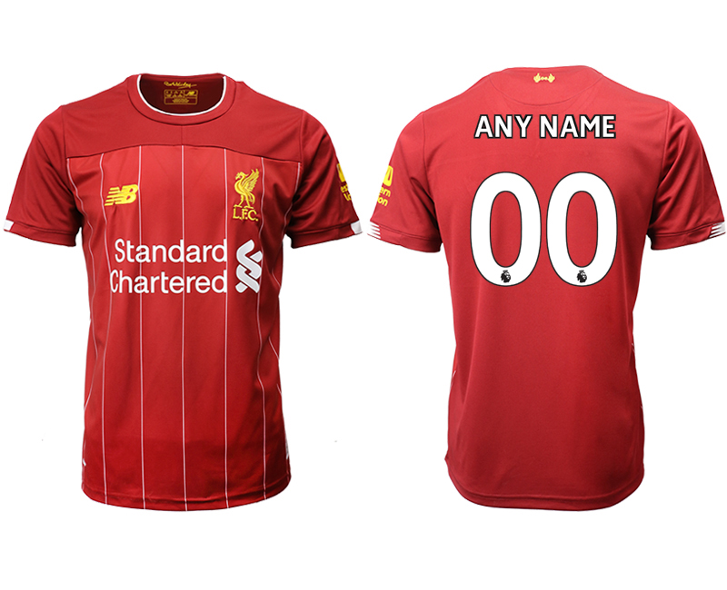 2019-20 Liverpool Customized Home Thailand Soccer Jersey