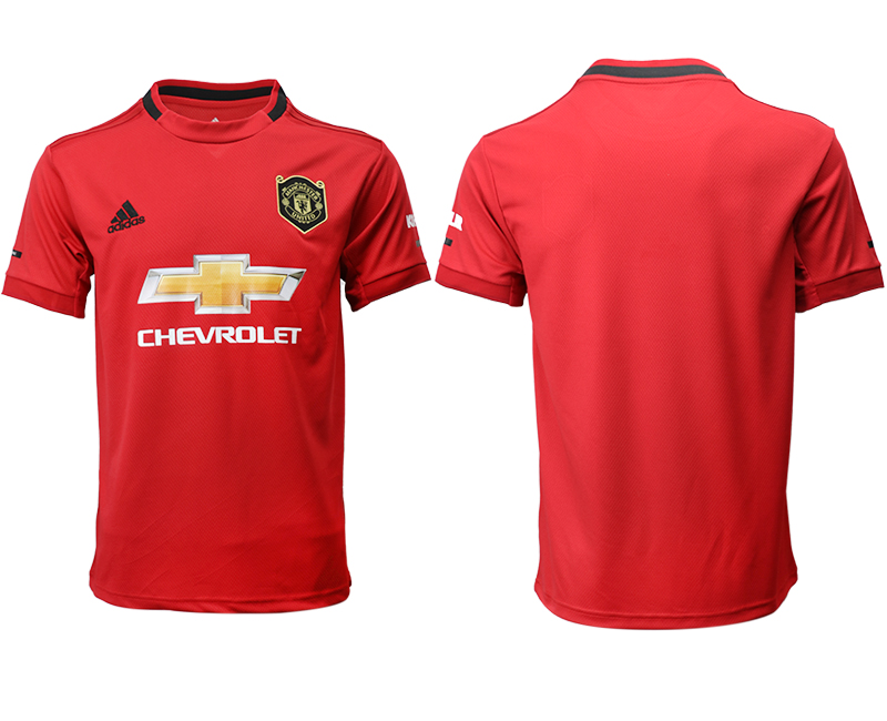 2019-20 Manchester United Home Thailand Soccer Jersey