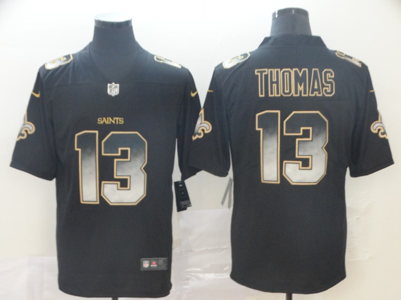 Nike Saints 13 Michael Thomas Black Arch Smoke Vapor Untouchable Limited Jersey
