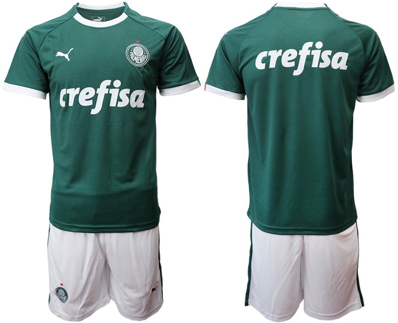 2019-20 Palmeiras Home Soccer Jersey