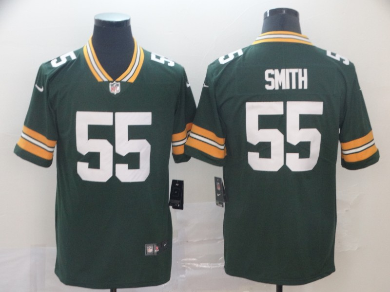 Nike Packers 55 Za'Darius Smith Green Vapor Untouchable Limited Jersey