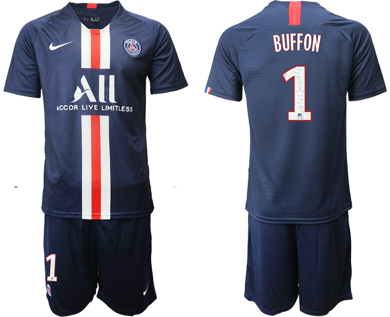 2019-20 Paris Saint-Germain 1 BUFFON Home Soccer Jersey