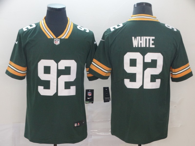 Nike Packers 92 Reggie White Green Vapor Untouchable Player Limited Jersey
