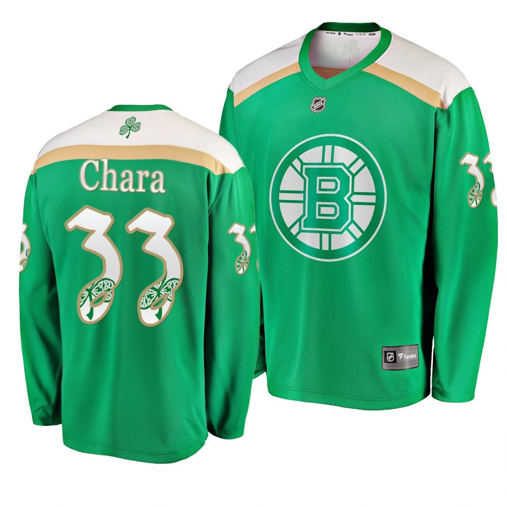 Bruins 33 Zdeno Chara Green 2019 St. Patrick's Day Adidas Jersey.jpeg