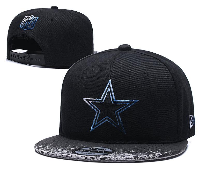 Cowboys Team Logo Black Adjustable Hat YD