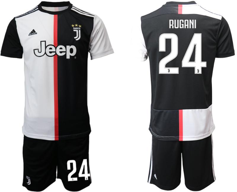 2019-20 Juventus FC 24 RUGANI Home Soccer Jersey