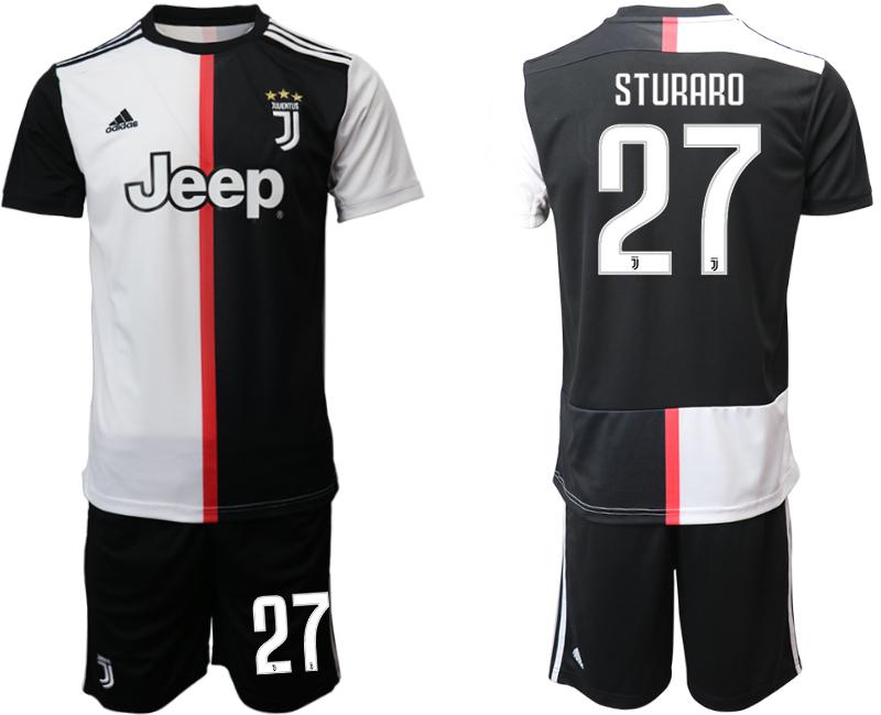 2019-20 Juventus FC 27 STURARO Home Soccer Jersey
