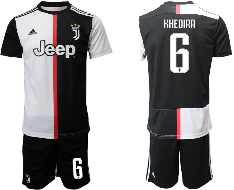 2019-20 Juventus FC 6 KHEDIRA Home Soccer Jersey