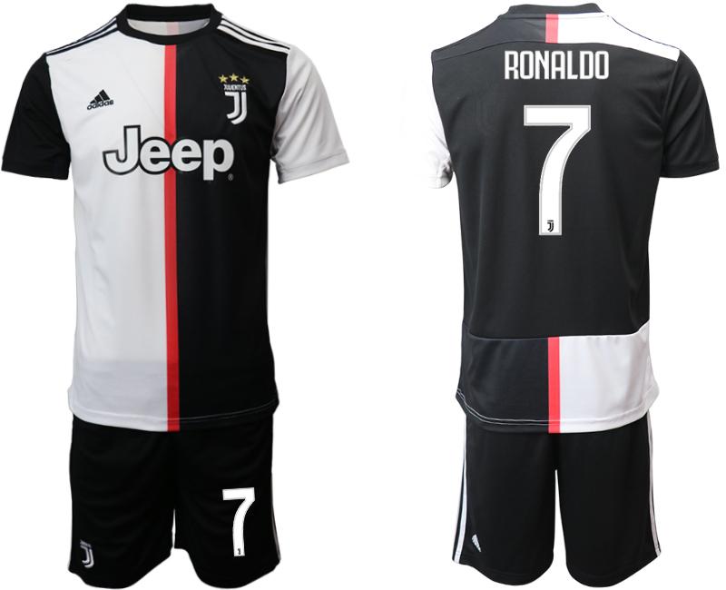 2019-20 Juventus FC 7 RONALDO Home Soccer Jersey