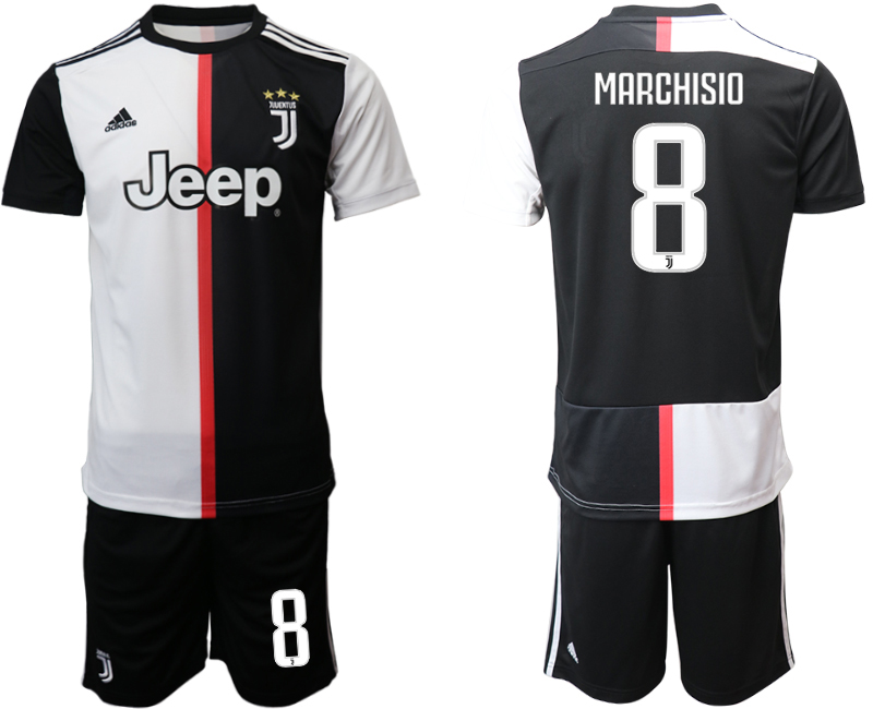 2019-20 Juventus FC 8 MARCHISIO Home Soccer Jersey
