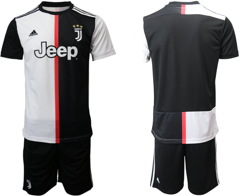 2019-20 Juventus FC Home Soccer Jersey