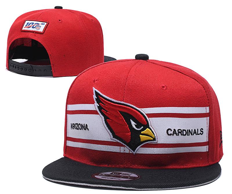 Arizona Cardinals Team Logo Red 100th Season Adjustable Hat YD