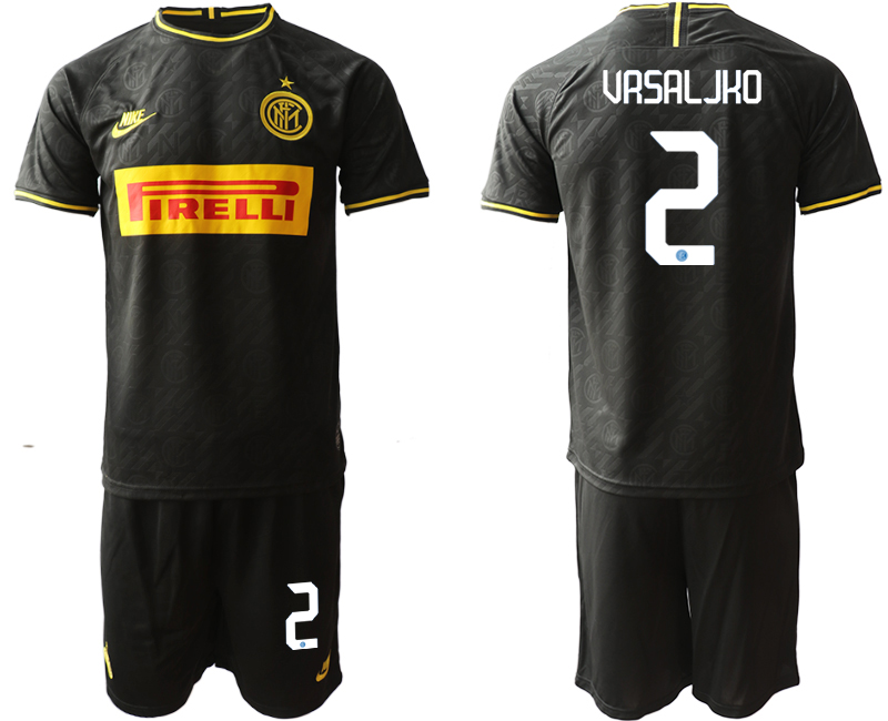 2019-20 Inter Milan 2 URSALJKO Third Away Soccer Jersey