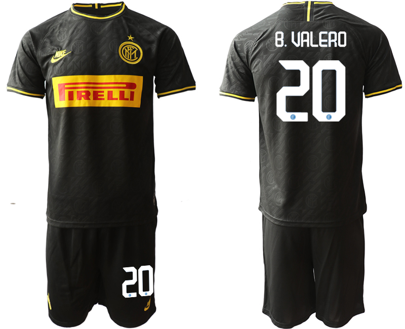 2019-20 Inter Milan 20 B. VAKERO Third Away Soccer Jersey
