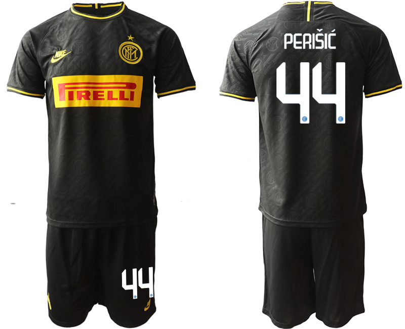 2019-20 Inter Milan 44 PERISIC Third Away Soccer Jersey