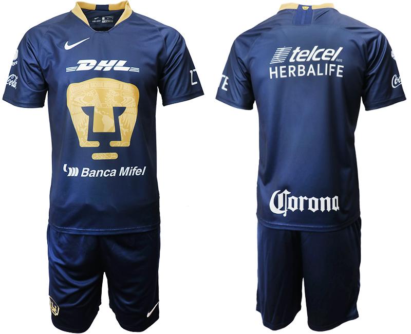 2019-20 Pumas UNAM Away Soccer Jersey