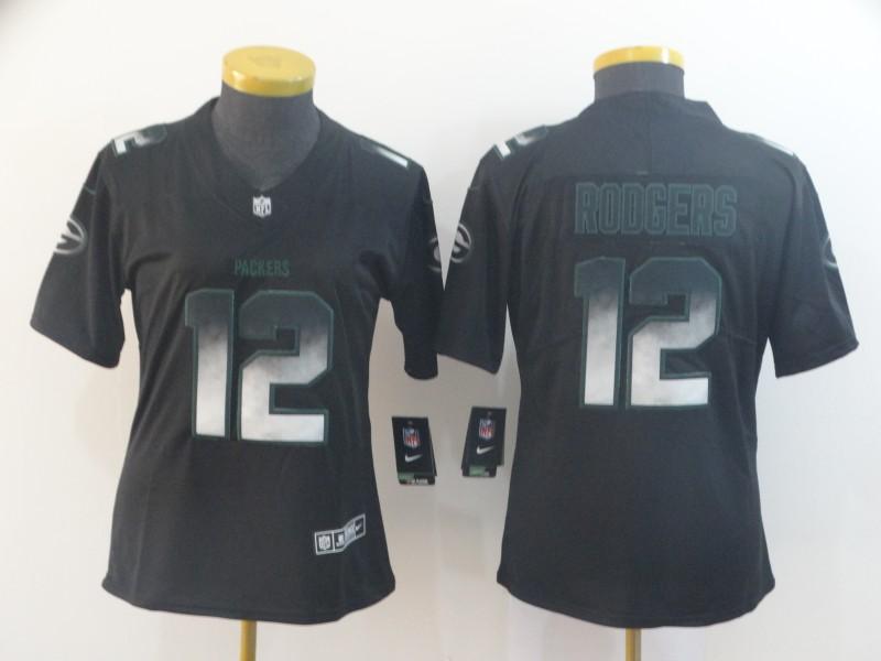 Nike Patriots 12 Tom Brady Black Arch Smoke Women Vapor Untouchable Limited Jersey